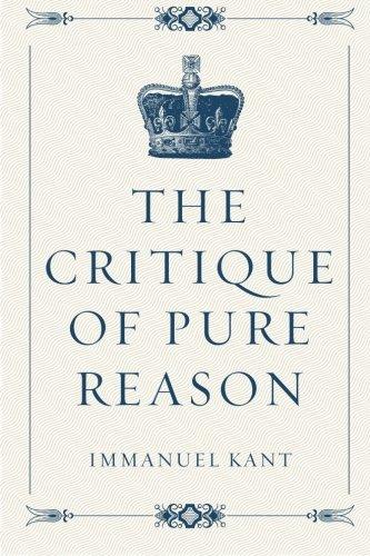 The Critique of Pure Reason PDF