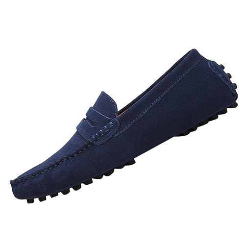 ZARLLE Zapatos Planos Mocasines Zapatos De Hombre Primavera Y Otoño Nuevos Zapatos De Guisantes para Hombre Transpirables Zapatos Casuales con Moda ...