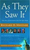 img - for As They Saw It: A Half-Century of Conversations from The Open Mind book / textbook / text book