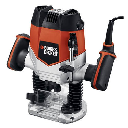 Black & Decker RP250 10-Amp 2-1/4-Inch Variable Speed Plunge Router (Black And Decker Tool Table compare prices)