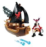 Fisher-Price Disney's Jake and The Never Land Pirates - Hook's Battle Boat