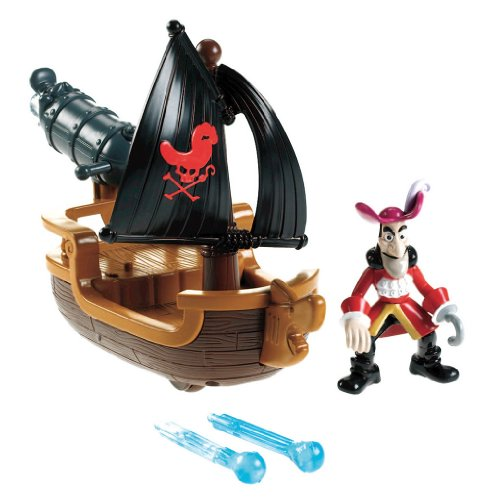 (Fisher-Price Disney's Jake and The Never Land Pirates - Hook's Battle Boat)