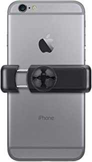 Suporte Veicular Universal para Smartphones, compatível com todos os modelos de smartphones até 8cm de largura, Preto/Cinza,