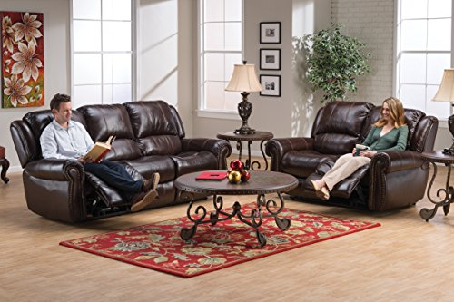 Review Westland Leather Reclining Loveseat