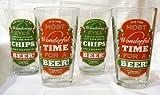 Grasslands Road Christmas Beer Pilsner Glasses
