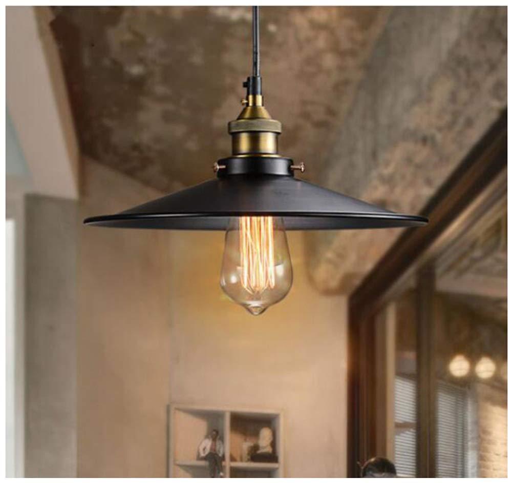 GG_L ヴィンテージ錬鉄製ペンダントライトledクリエイティブシャンデリア寝室シングルヘッドシンプルな天井照明レストランのリビングルームの照明   B07TP725PG