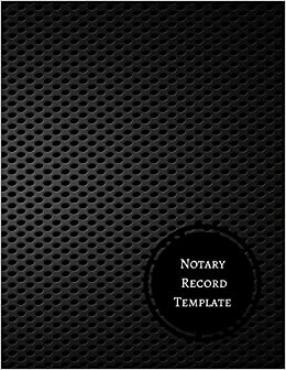 Notary Record Template Notary Log Journals For All