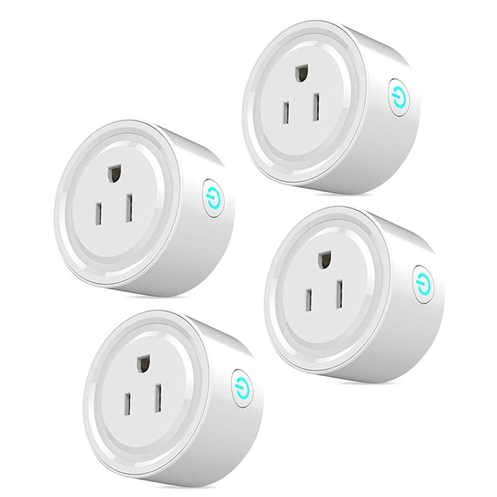 Yimai Smart Plug Alexa, WiFi Smart Socket Outlet Remote Control,No Hub Required, (4 Pack)