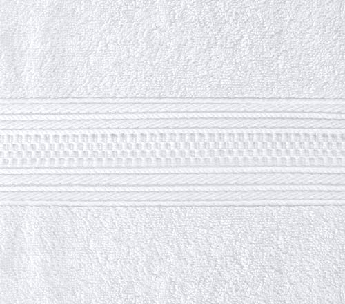 Utopia Towels Pack of 24-700 GSM Premium Cotton Bath Towel (White, 27 x 54 Inches) Luxury Bath Sheet Perfect for Home, Bathrooms, Pool and Gym Ring-Spun Cotton (White) by Utopia Towels (Image #3)