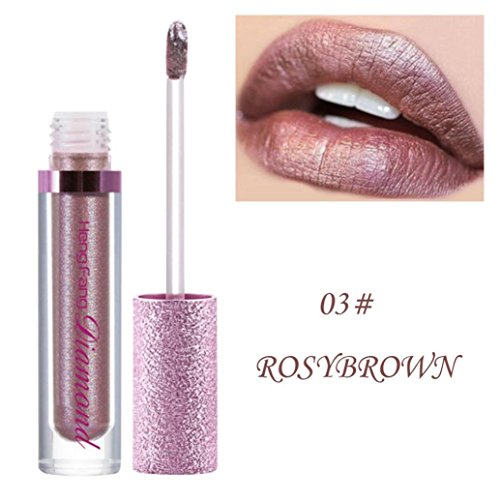 Alonea Lip Gloss, Shimmer Lips Lasting Lip Gloss Lipstick
