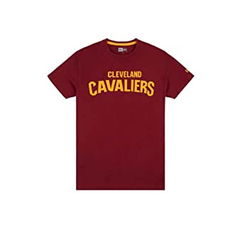 A NEW ERA Era NBA Team Apparel Pop Logo Clecav Camiseta, Unisex niños, (