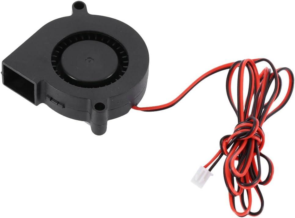 Iplusmile 5015 Fan 24V Placa de Circuito Ventilador del Enfriador de Calor Ventilador pequeño para Impresora 3D