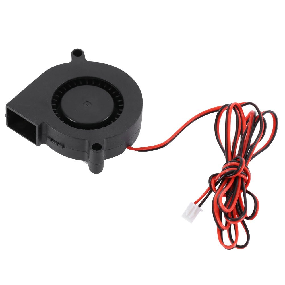 UEETEK 3D Printer Cooling Fan Blower Fan for Cooling Heatsinks 3D Printer Accessory 5015 FAN 24V