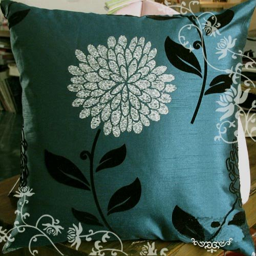 Amazon.com: Elleweideco Modern Brown And Cyan Blue Tree Branch Throw Pillow  Cover: Home U0026 Kitchen