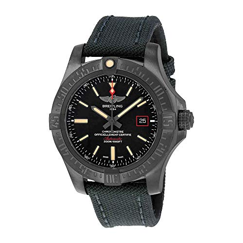 a421941d120bf Breitling Avenger Blackbird Automatic Black Dial Titanium for sale  Delivered anywhere in USA