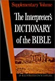 The Interpreter's Dictionary of the Bible, , 0687192692