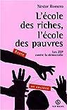 Ecole des riches ecole des pauvres par Romero