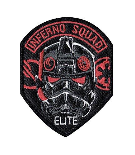 Inferno Squad Trooper Battlefront Star Wars Inspired Art Tactical Morale Hook Loop Compatible Patch