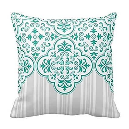 Bala Funny Home almohada hogar cubierta verde esmeralda ...