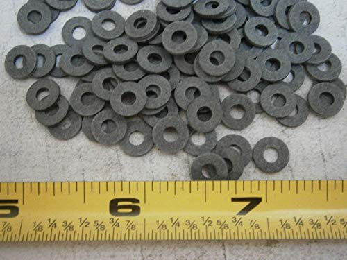 Flat Washers .312'' OD x .120'' ID x .047'' Thick Fiber Grey Lot of 100#4496