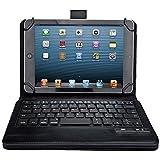 """iClever® Tastiera Universale Bluetooth con Custodia in Cuoio PU per Tablet di 7 """"8"""" 7.9 """"Pollici, tra cui iPad Mini, 2; Samsung Galaxy Tab3, Tab 4; Google Nexus 7; Dell Venue Pro 8; Acer Iconia Tab A100"""