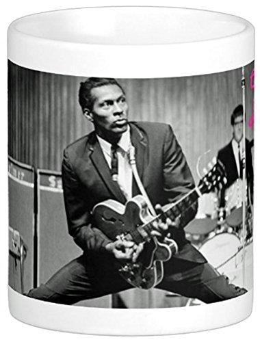 Chuck Berry Rock & Roll Hall of Fameon 11 Oz. Ceramic Coffee Mug (Berry Rocks)