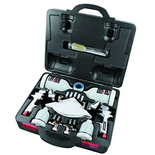 Husky HDK00600SG HVLP & Standard Gravity Feed Spray Gun Kit ()