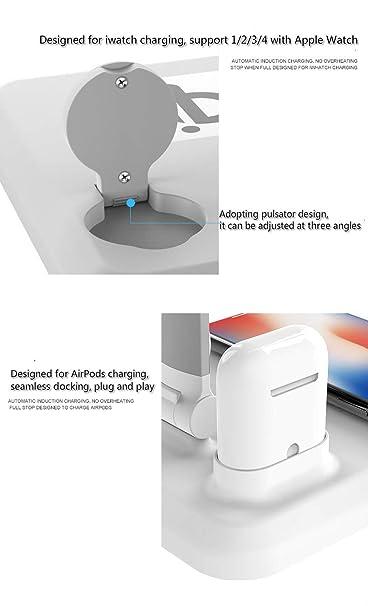 Yizhen QI Lámpara de escritorio de carga inalámbrica cuatro en una ...