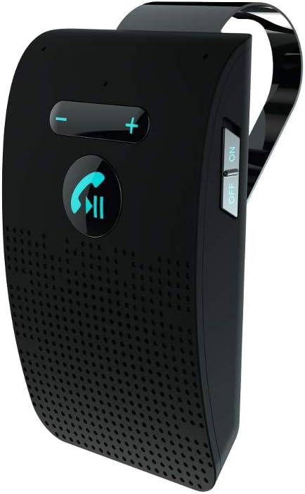 C-FUNN Sp09 Coche Altavoz Bluetooth Manos Libres Siri Control De Voz Sol Visera Coche Manos Libres