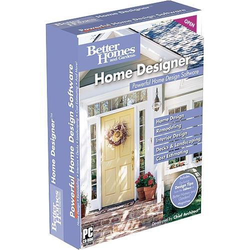 Amazon Com Better Homes And Gardens Home Designer