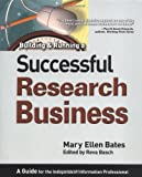 Building and Running a Successful Research Business, Mary Ellen Bates, 0910965625