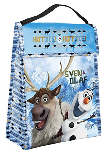 Disney Frozen Sven & Olaf Insulated Lunch Bag Tote