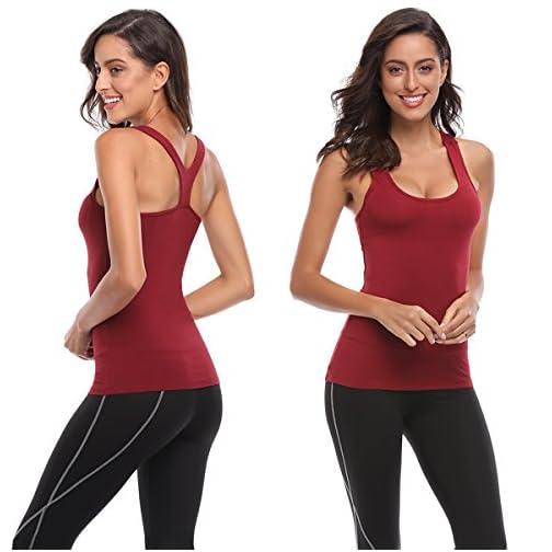 Tank Tops for Women Yoga Basic Running 3 Pack 4