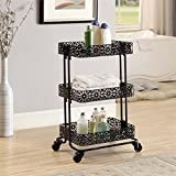 Product review for 3-Tier Cart in Black Finish