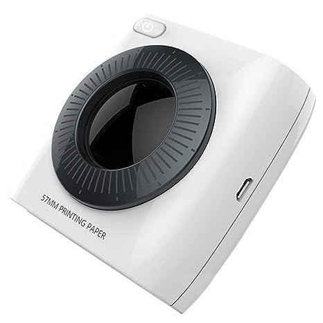 ZP-Printer Impresora Portátil, Teléfono Bluetooth con Foto ...