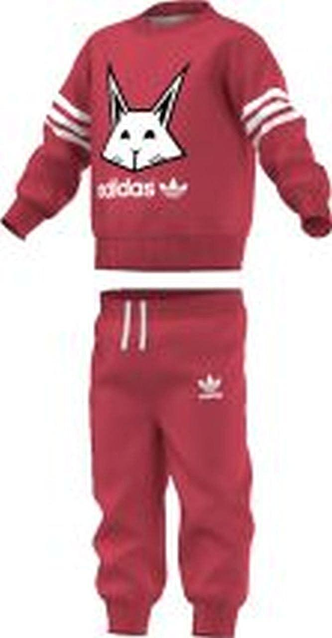 823578bde adidas Originals - Conjunto Deportivo - para bebé niña Rosa Rosa 9-12 Months   Amazon.es  Ropa y accesorios