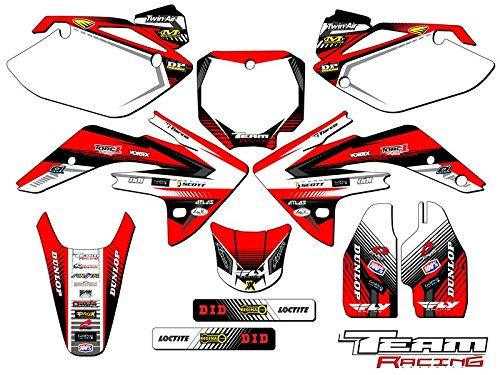 Team Racing Graphics kit for 2007-2017 Honda CRF 150R, ANALOG