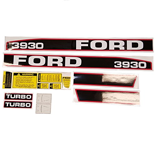 Complete Tractor Decal Set for Ford New Holland 3930