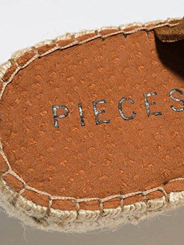 Chanclas Mujeres Púrpura psMelinda Calzado Sandalias Pieces Suede EgqFfw