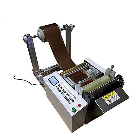 Microcomputadoras cobre corte máquina automática máquina de corte de lámina de aluminio papel 0,1 - ancho de corte de 180 mm 220 V 220V: Amazon.es: Hogar