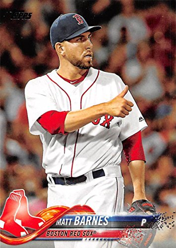 Baseball MLB 2018 Topps #152 Matt Barnes Red Sox