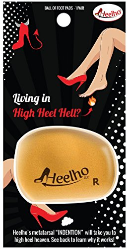 Price comparison product image Heelho - Living in High Heel Hell Our High Heel Insert Solves Ball of Foot Pain with a Metatarsal Haven!