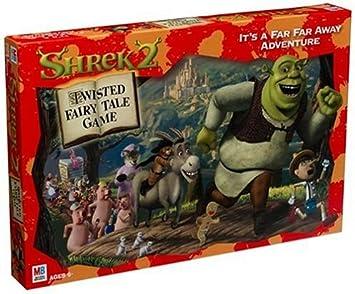 Amazon Com Shrek 2 Twisted Fairy Tale Game Toys Games