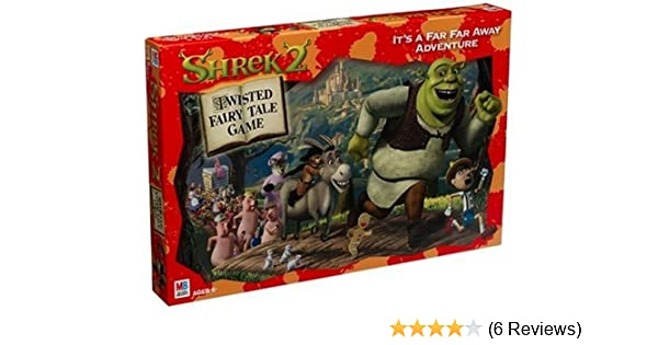 Amazon Com Shrek 2 Twisted Fairy Tale Game Toys Games