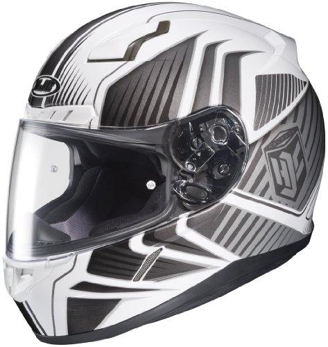 2014 Hjc Cl-17 Redline Motorcycle Helmets - White - Medium