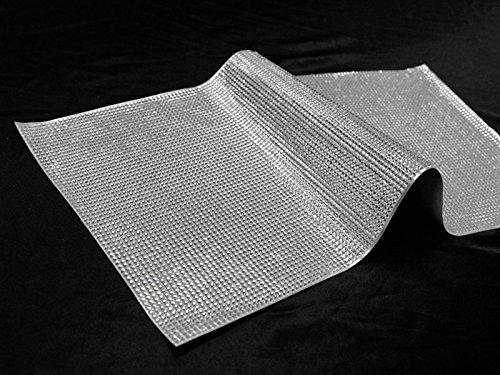 Diamond Label Adhesive - 21 Inch X 11 Inch Silver