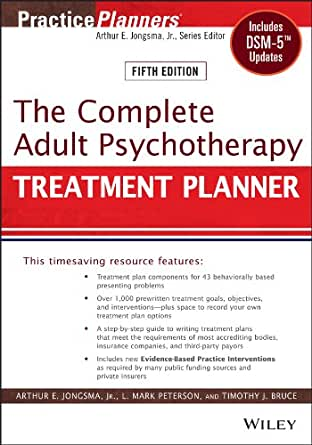 Complete Adult Psychotherapy Treatment Planner ebook