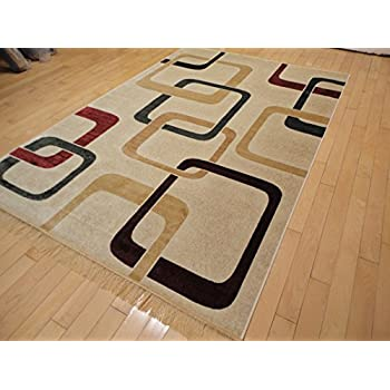 Amazon Com New Modern Rugs For Bedroom 5x8 White Area Rugs Rugs For