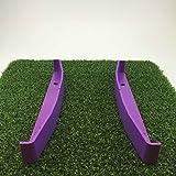 TIBA Putt - Golf Alignment Putting Aid - Purple