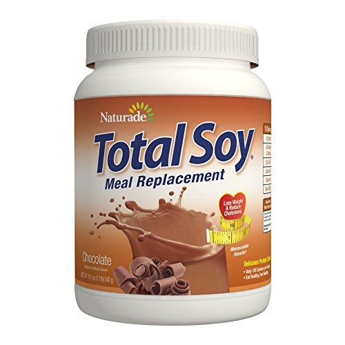 Naturade totale de farine de soja Supplément de remplacement, chocolat, 19,1 once